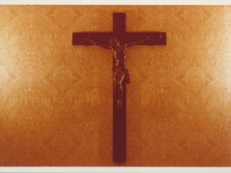 The first crucifix used at Windmoor